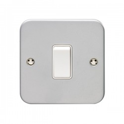 Eurolite Metal Clad 1 Gang 20A Double Pole Switch