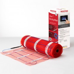 Warmup StickyMat 200W/m² Underfloor Heating, 2.5m² 500W