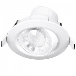 Aurora Lighting Spryte 8W Warm White Dimmable Adjustable LED Downlight