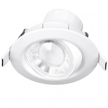 Enlite Spryte 8W Warm White Dimmable Adjustable LED Downlight