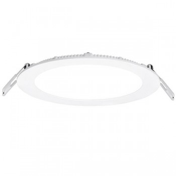 Aurora Lighting Slim-Fit 12W Cool White Dimmable Fixed LED Downlight