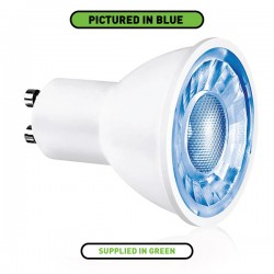 Aurora Lighting Ice 3W Non-Dimmable GU10 Green LED Spotlight