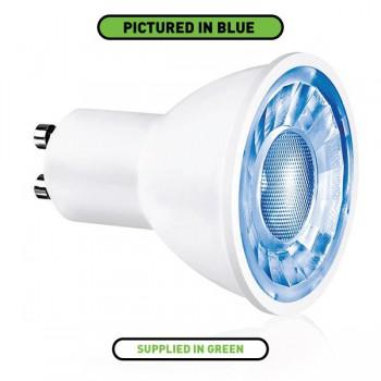 Aurora Lighting Ice 3W Non-Dimmable GU10 Green LED Spotlight