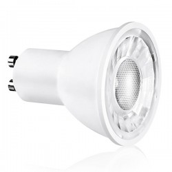 Enlite Ice 5W 3000K Dimmable GU10 LED Spotlight with 24° Beam Angle