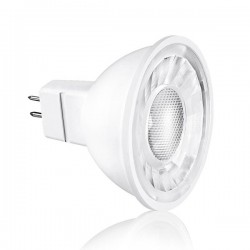 Aurora Lighting Ice 5W 4000K Non-Dimmable MR16 LED Spotlight with 38° Beam Angle