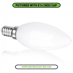 Enlite E360 3W 2700K Non-Dimmable E27 LED Candle Bulb