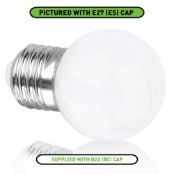 Enlite EDim 5W 2700K Dimmable B22 LED Golf Ball Bulb