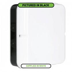 Aurora Lighting Utilite 18W 4000K Square Drum White LED Bulkhead with Microwave Sensor