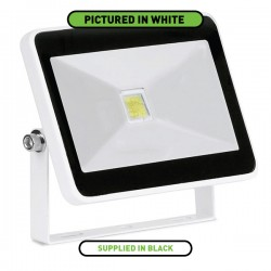Enlite QuaZar 10W 4000K Black Driverless LED Floodlight