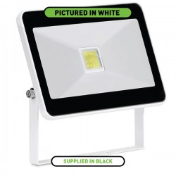 Enlite QuaZar 20W 4000K Black Driverless LED Floodlight