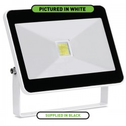 Enlite QuaZar 30W 4000K Black Driverless LED Floodlight