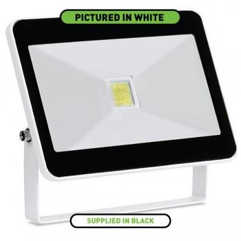 Enlite QuaZar 30W 4000K Black Driverless LED Floodlight