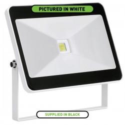 Enlite QuaZar 50W 4000K Black Driverless LED Floodlight