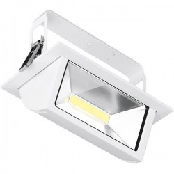 Aurora Lighting Prysim 45W 4000K Non-Dimmable Adjustable LED Wallwasher