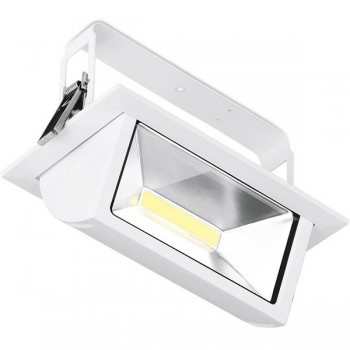 Enlite Prysim 45W 4000K Non-Dimmable Adjustable LED Wallwasher