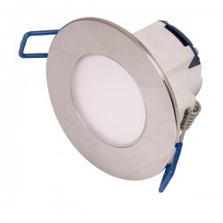 Click Ovia Inceptor Pico 5.5W Cool White Dimmable Chrome Fixed LED Downlight