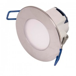 Click Ovia Inceptor Pico 5.5W Warm White Dimmable Chrome Fixed LED Downlight