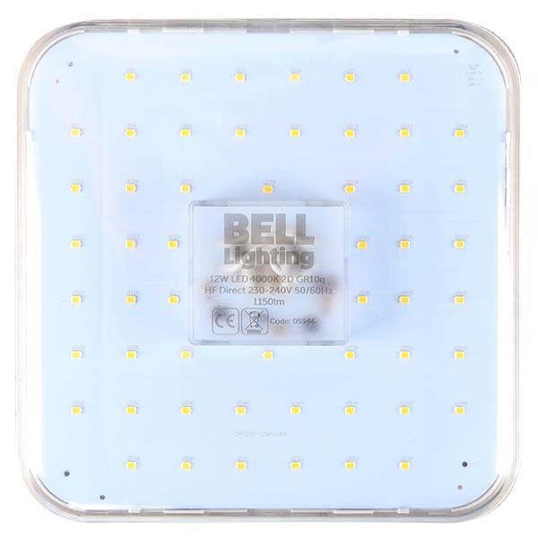 detailed look cd334 73e60 Bell Lighting Pro HF Direct 12W Warm White Non-Dimmable GR10q LED 2D Lamp