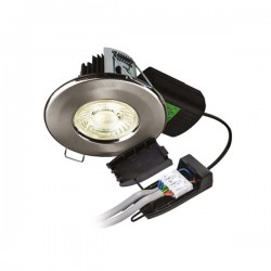 Collingwood Halers H2 Pro 700 T 3000K Dimmable Fixed LED Downlight with Emergency Pack - 55° Beam Ang...