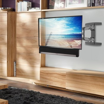Lithe Audio Full-Motion Corner TV Wall Mount for TVs up to 70in