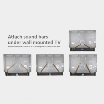 Lithe Audio Universal Soundbar Bracket