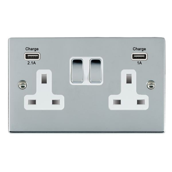 13 AMP MAINS PLUG WITH SWITCH New!