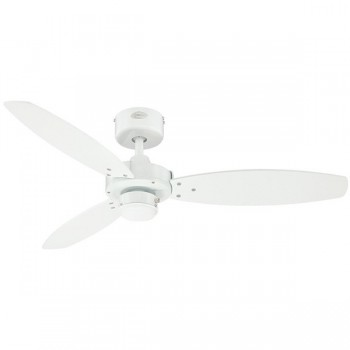 Westinghouse Jet II 42 Inch White Ceiling Fan with White and Light Maple Blades