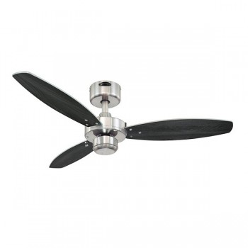 Westinghouse Jet I 42 Inch Brushed Nickel Ceiling Fan with Wengue and Silver Blades