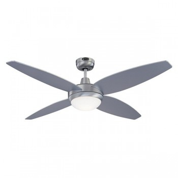 Westinghouse Havanna 52 Inch Brushed Aluminium Ceiling Fan with Silver and Graphite Blades