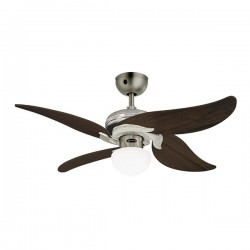 Westinghouse Jasmine 42 Inch Dark Pewter Ceiling Fan with Weathered Maple Blades