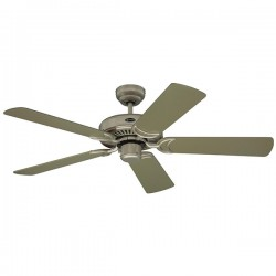 Westinghouse Monarch 48 Inch Titanium Ceiling Fan with Titanium and Maple Blades