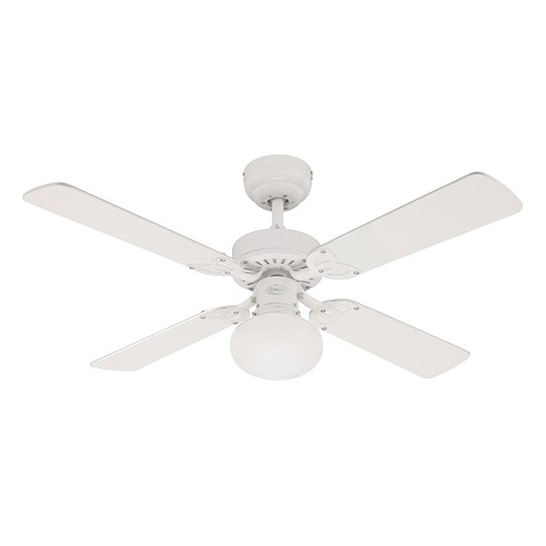 Westinghouse Vegas 42 Inch White Ceiling Fan With White