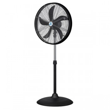Westinghouse Yucon I Black and Silver Standing Floor Fan