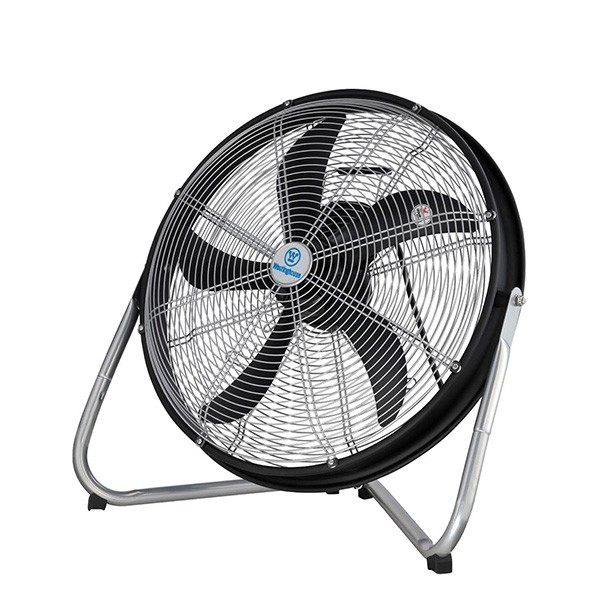 Large Floor Fans : Westinghouse yucon ii black and silver floor fan at uk