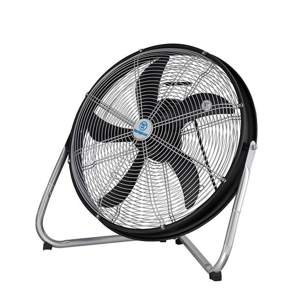 Black Floor Fan : Westinghouse yucon ii black and silver floor fan at uk
