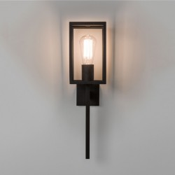 Astro Coach 130 Black Outdoor Wall Light