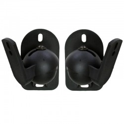 VonHaus Wall Mount Speaker Bracket Pair