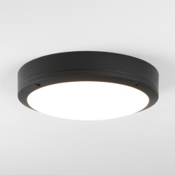 Astro Arta 275 Round Black Outdoor LED Wall Light