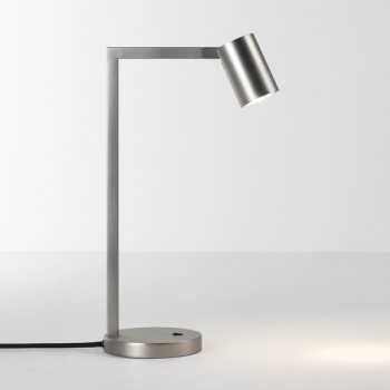 Astro Ascoli Matt Nickel Desk Lamp