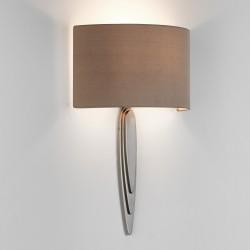 Astro Gaudi Matt Nickel Wall Light