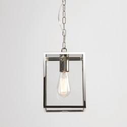 Astro Homefield 240 Polished Nickel Outdoor Pendant Light