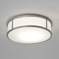 Astro Mashiko 300 Round Polished Chrome Bathroom LED Ceiling Light