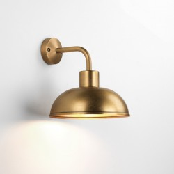 Astro Stornoway Coastal Antique Brass Outdoor Wall Light