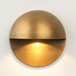Astro Tivoli Coastal Antique Brass Outdoor LED Wall Light