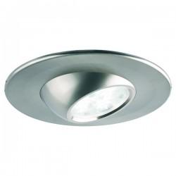 Collingwood Halers H4 Eyeball T 3000K Dimmable Brushed Steel Adjustable LED Downlight