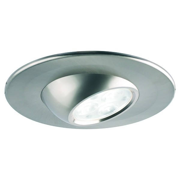 Collingwood Halers H4 Eyeball T 3000K Dimmable Brushed Steel ...
