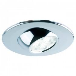 Collingwood Halers H4 Eyeball T 3000K Dimmable Chrome Adjustable LED Downlight