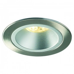 Collingwood Halers H5 500 T Symmetric 3000K Dimmable Brushed Steel Fixed Low Glare LED Downlight