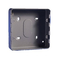 mk electric k8893almmk metal clad six and eight gang surface back box 1 compact mk metal clad double surface back box at uk electrical supplies contact fusebox elavon at n-0.co