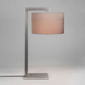 Astro Ravello Matt Nickel Table Lamp